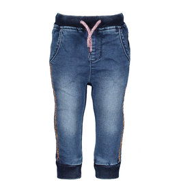 B.Nosy B.Nosy Baby Girls Denim Pants DARK BLUE