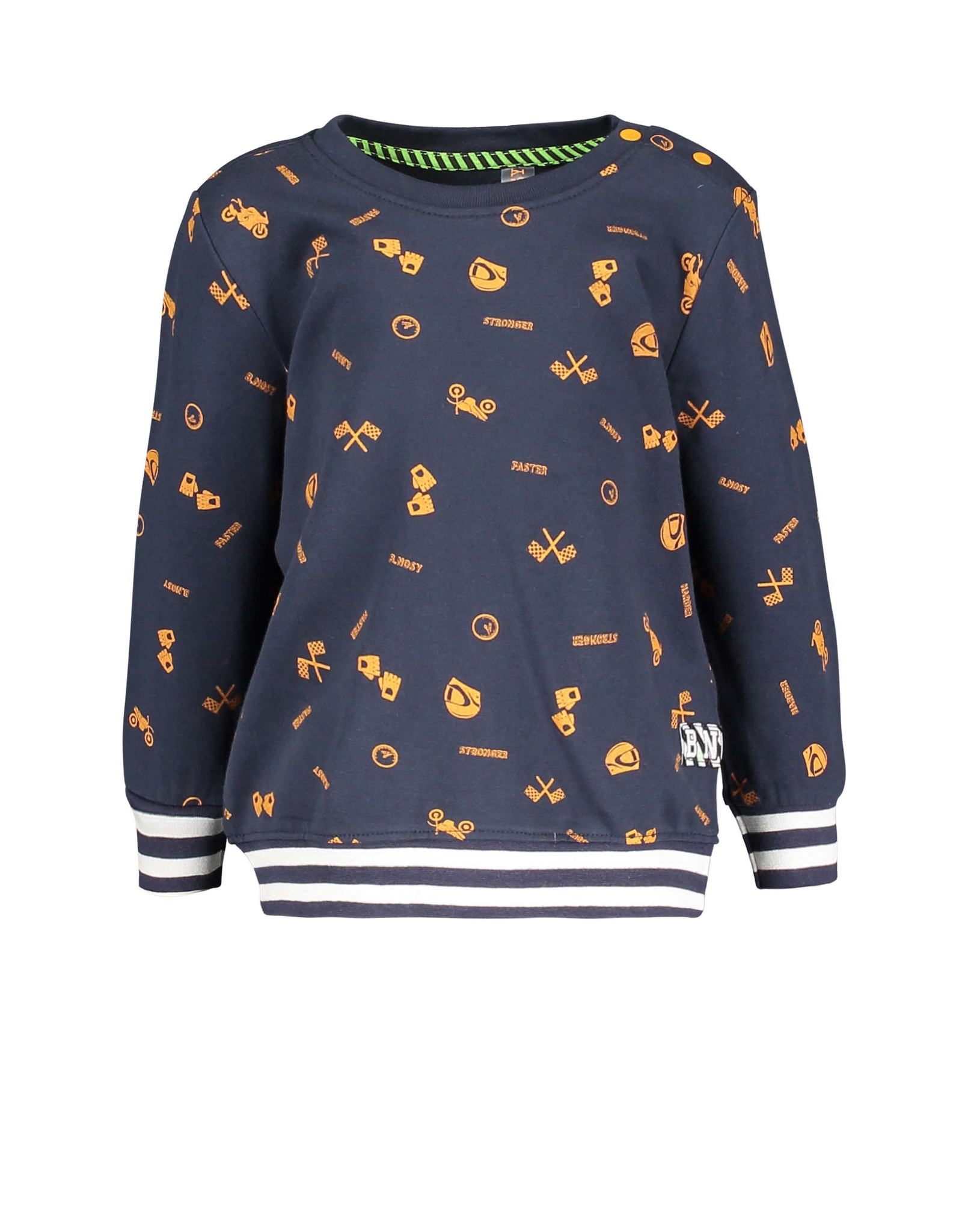 B.Nosy B.Nosy Baby Boys Sweater RACE OAK