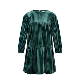 Creamie Creamie Dress Velour Mallard Green