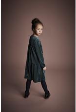 Creamie Creamie Dress Velour Mallard Green