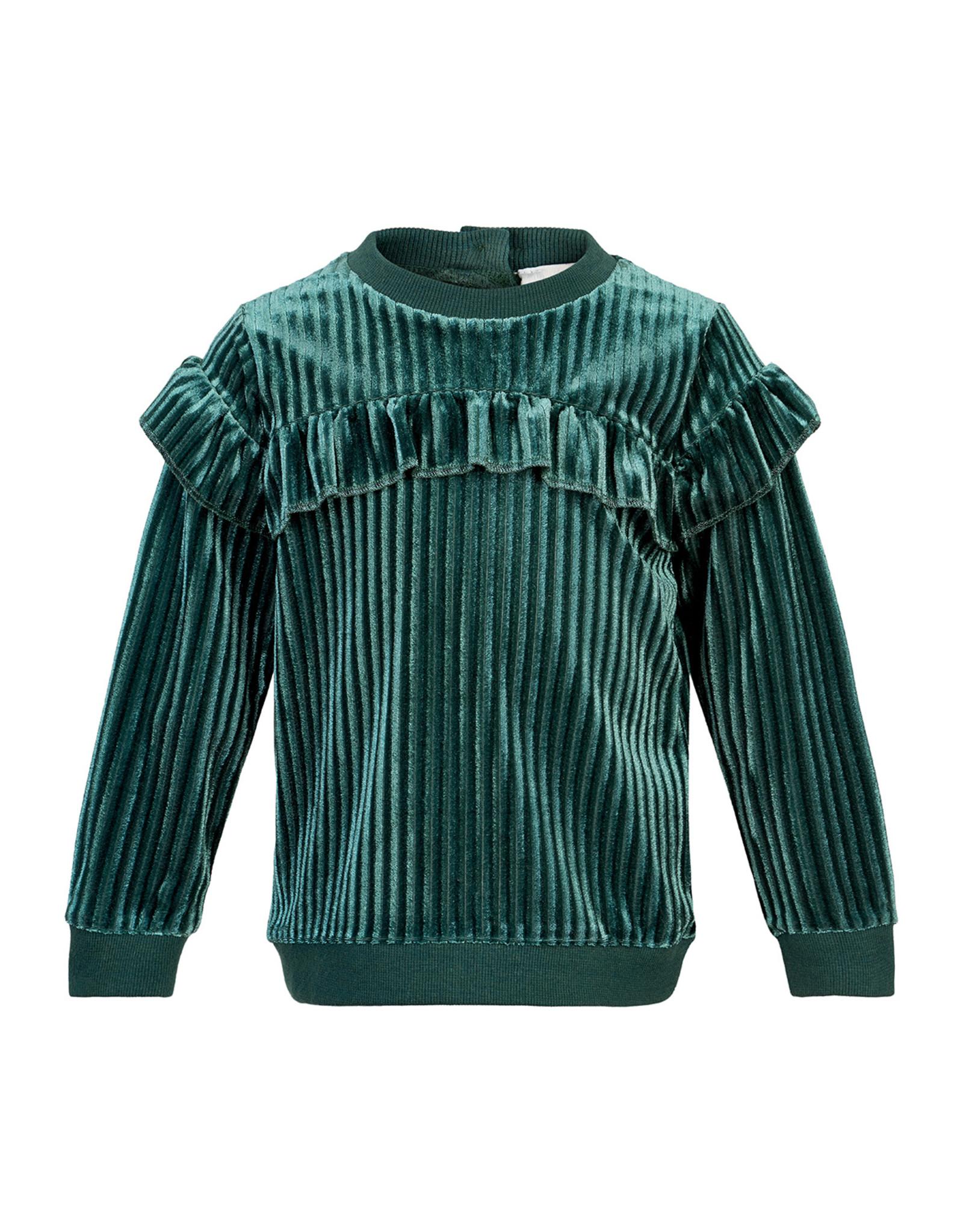 Creamie Creamie Sweatshirt Velour Mallard Green