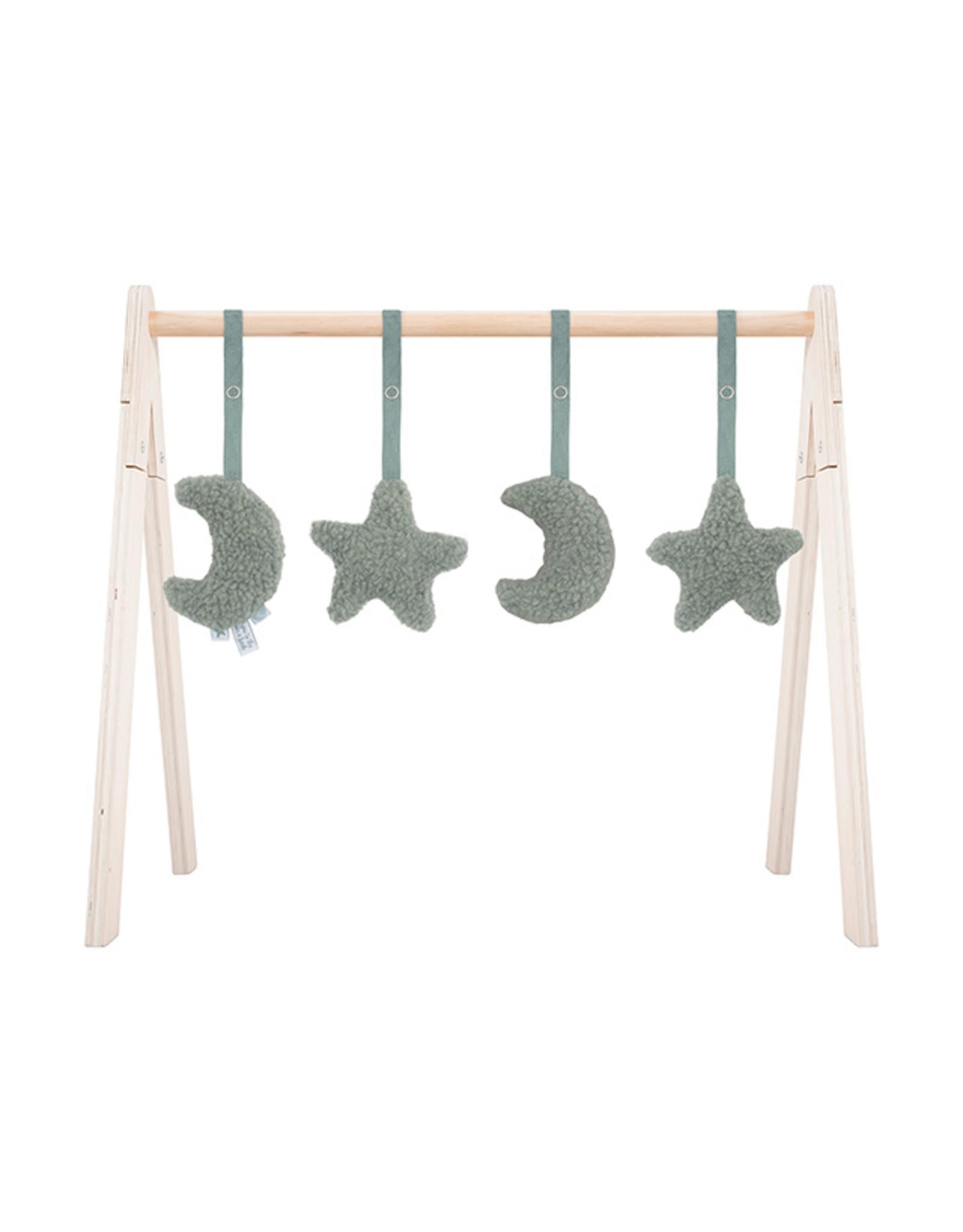 Jollein Jollein Babygym Toys Moon Ash Green