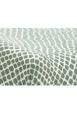 Jollein Jollein Waskussenhoes Jersey Snake ash green 50x70CM