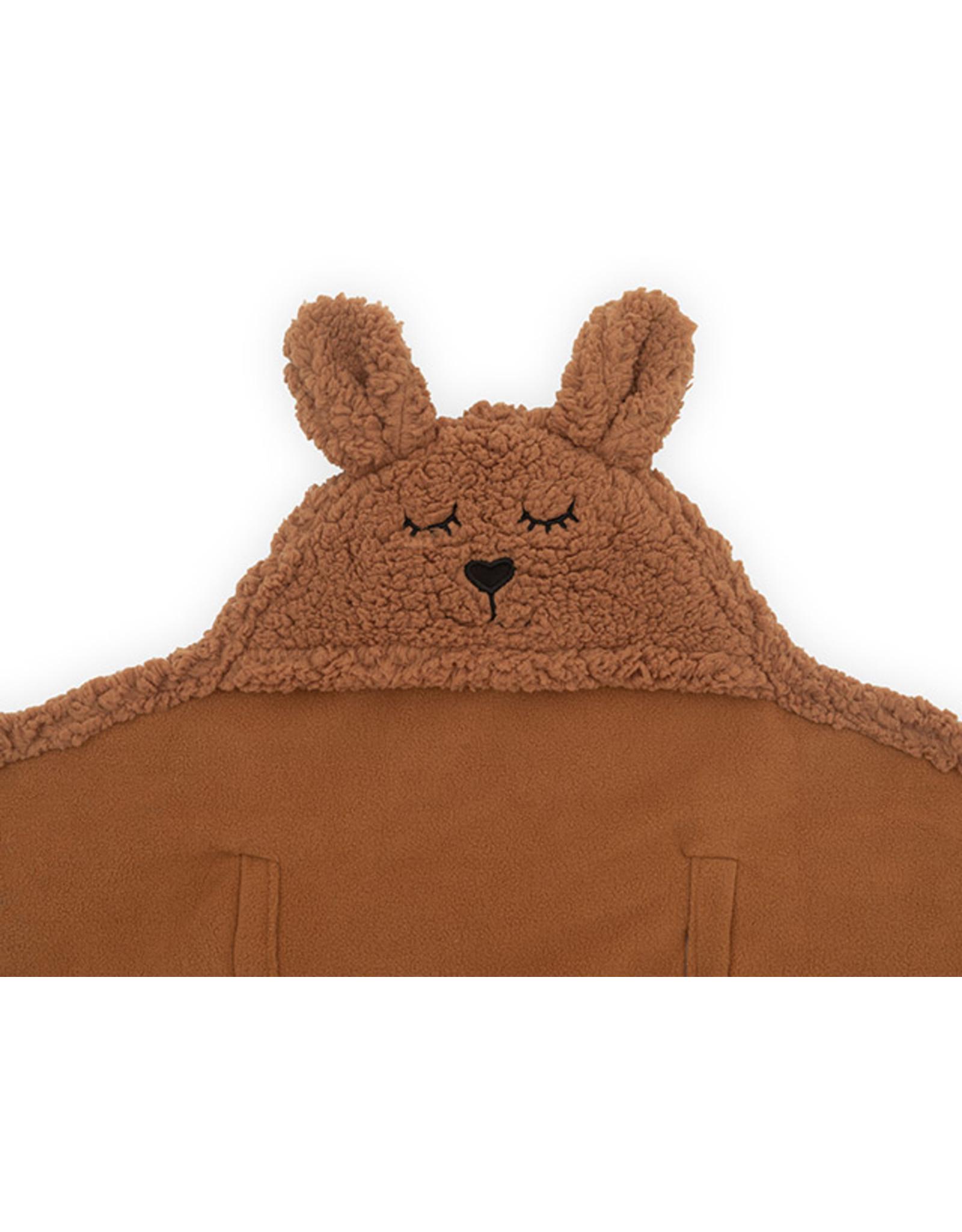 Jollein Jollein Wikkeldeken Bunny Caramel