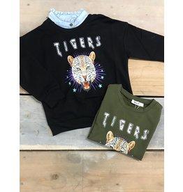 Kiezel Tiger Sweater Black