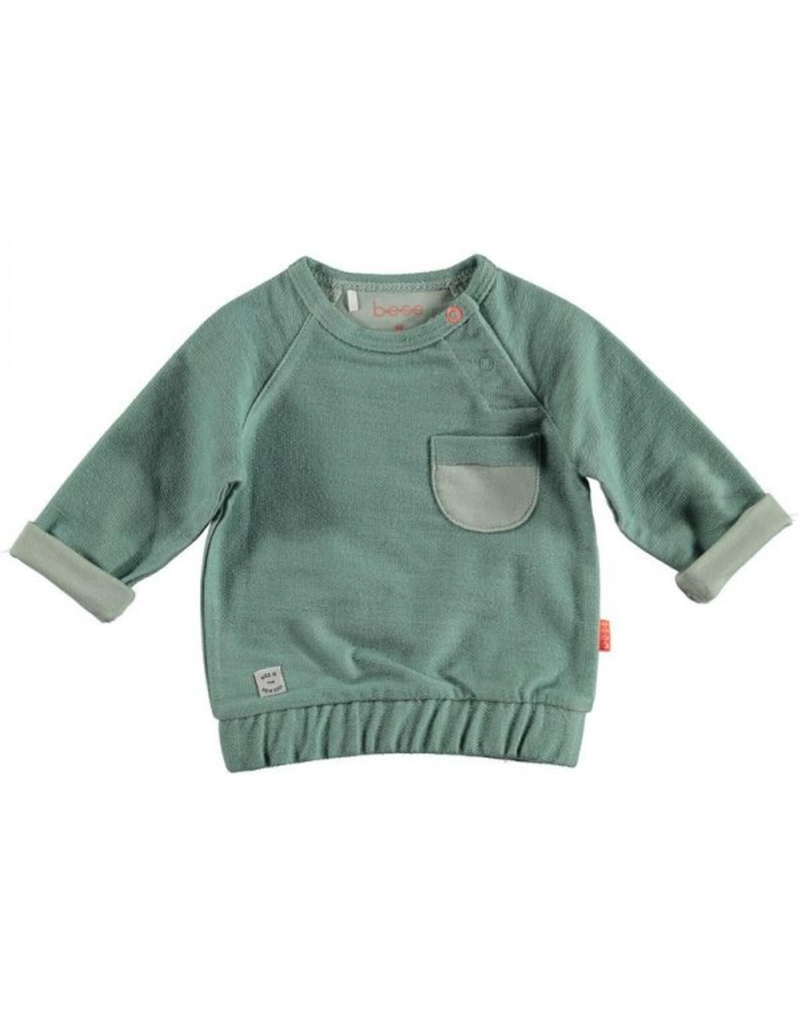 BESS BESS Sweater Pocket Green
