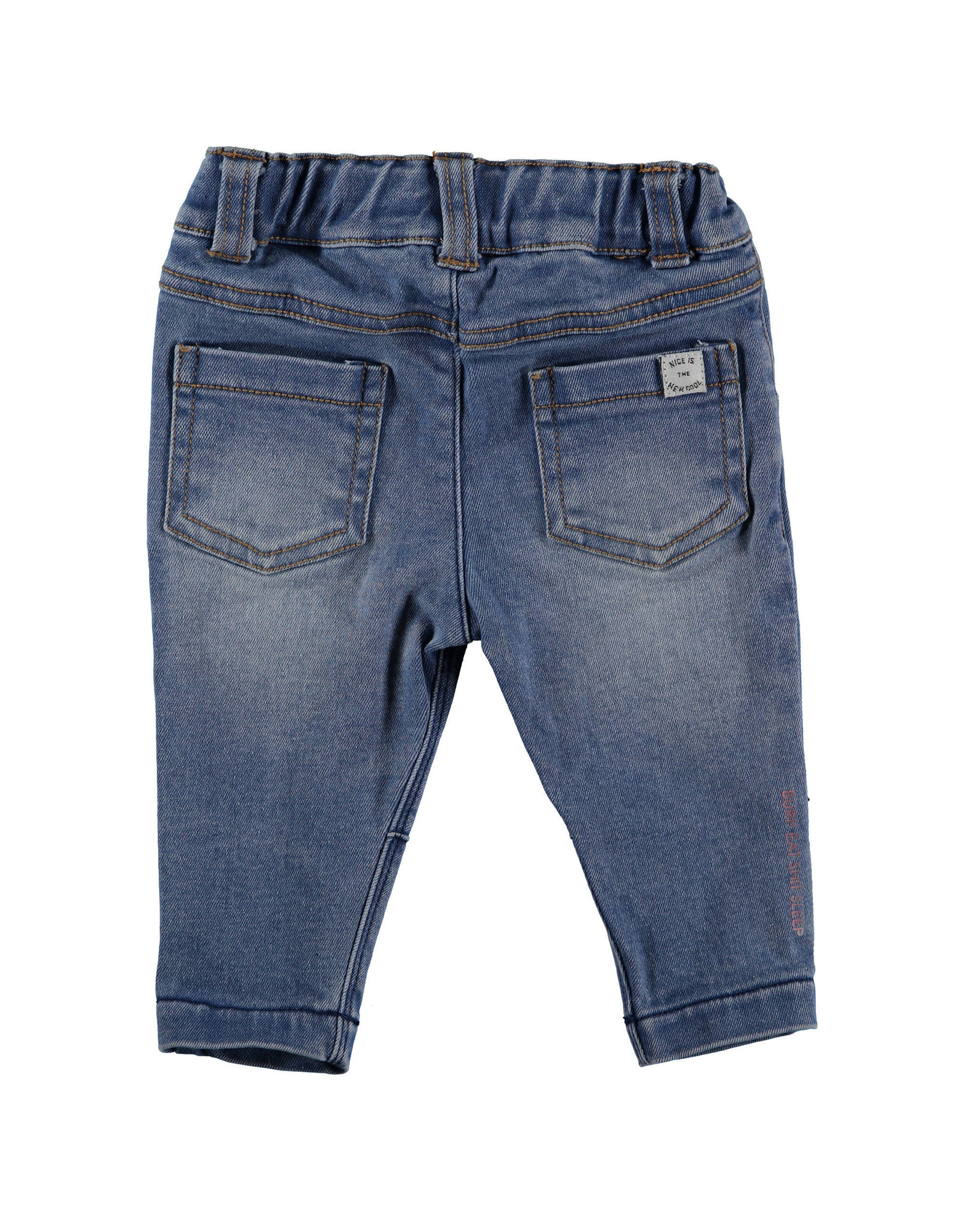 BESS BESS Pants Jogdenim STONE WASH