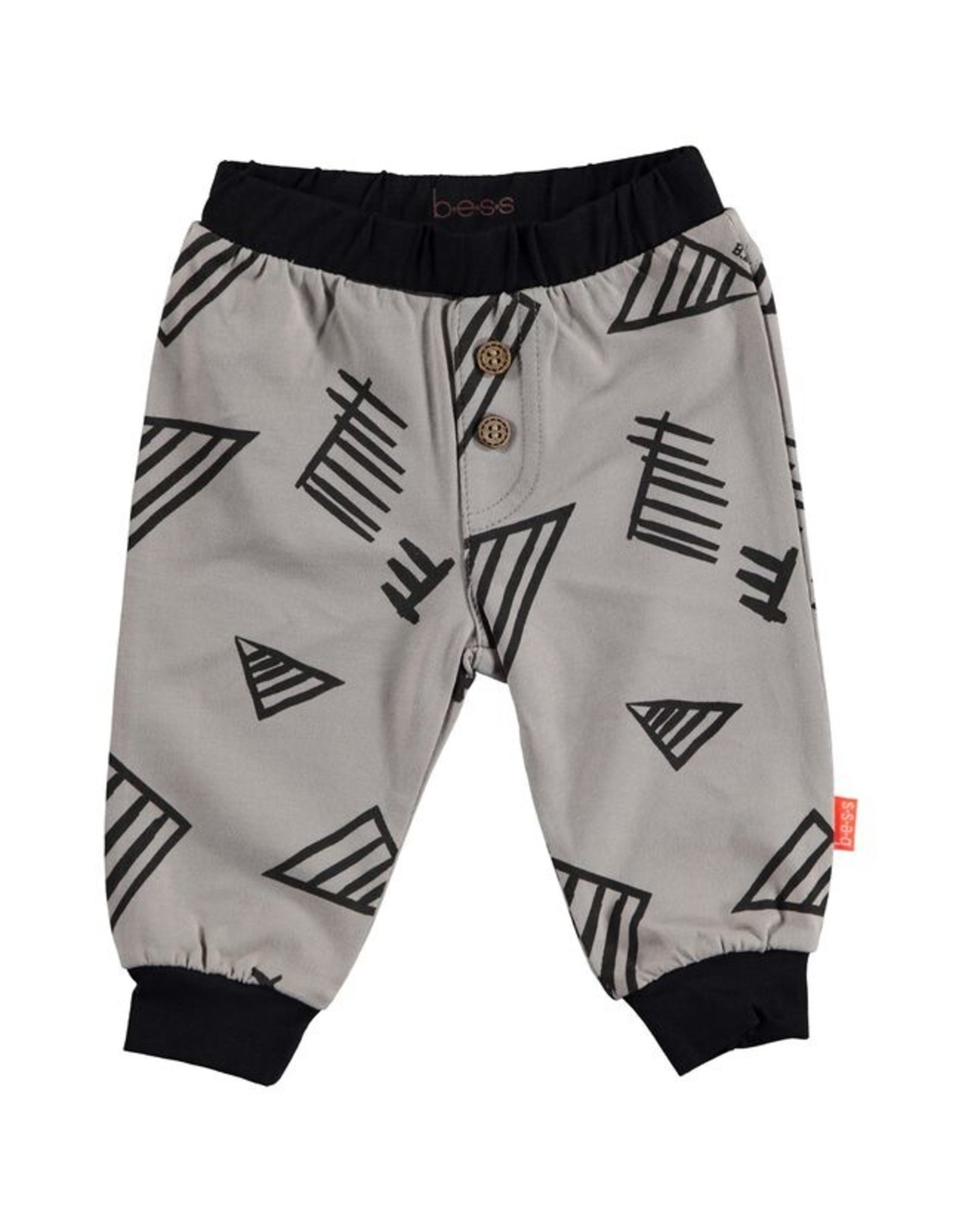 BESS BESS Pants Graphic
