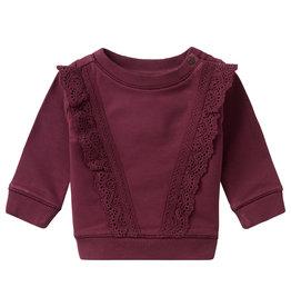 Noppies Noppies G Sweater LS Barbeton Burgundy
