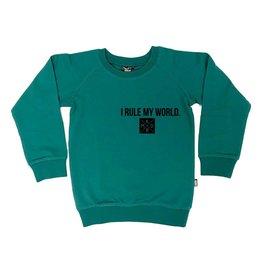 KMDB KMDB Kids Sweater Rule my World