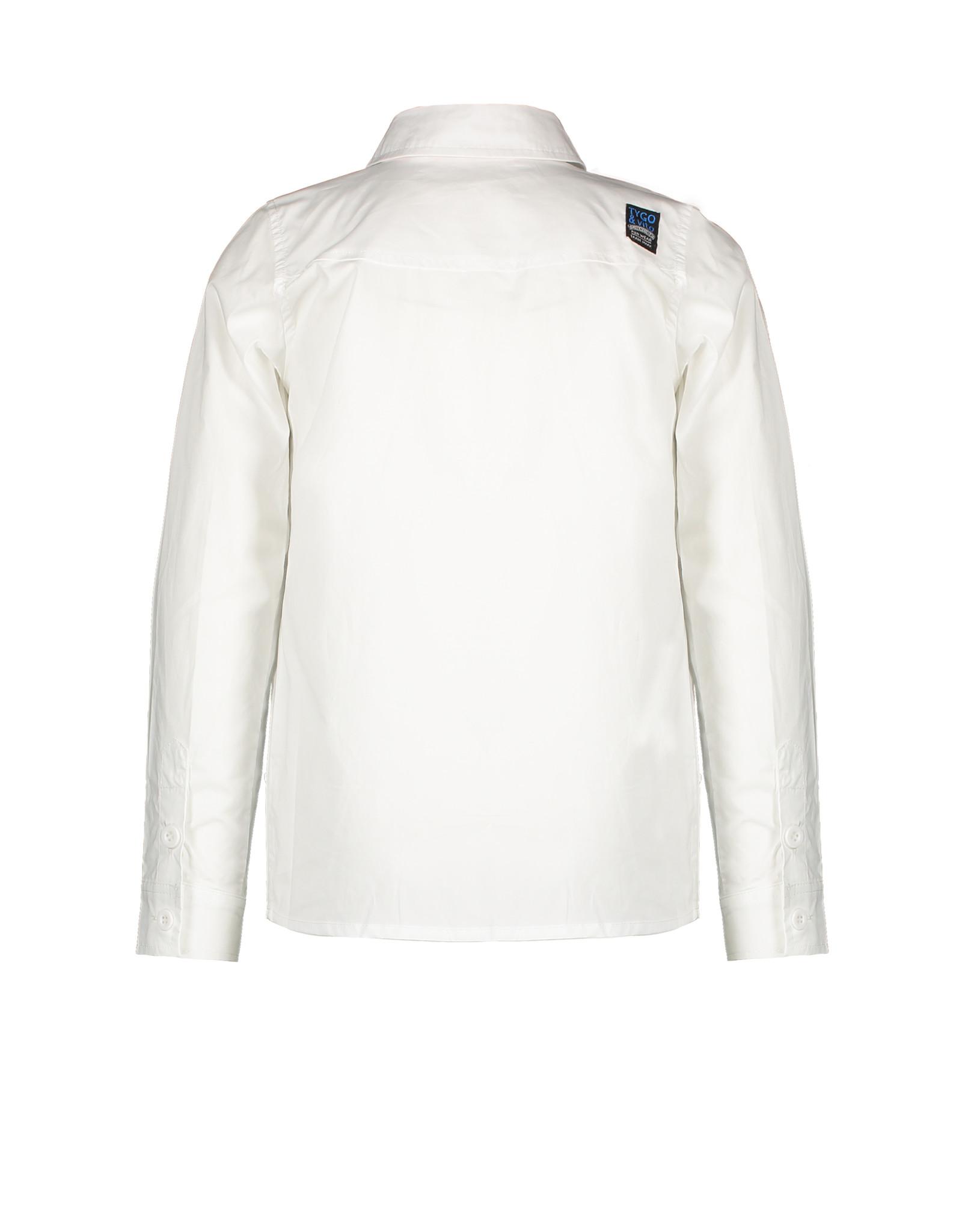 TYGO & Vito TYGO & Vito Shirt WHITE