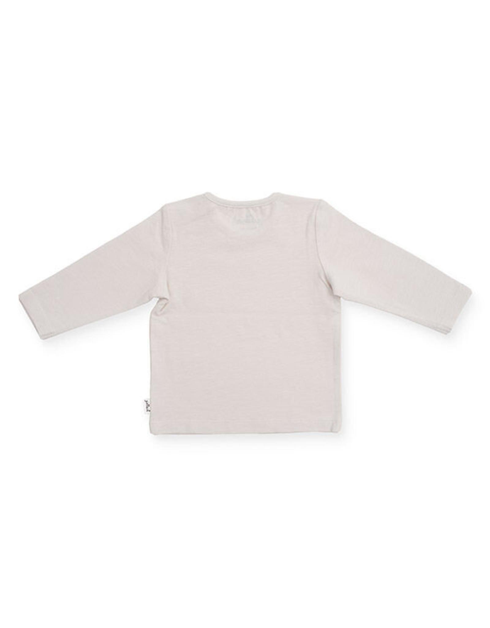 Jollein Jollein Shirt lange mouw FOREST OFF WHITE Maat 50-56