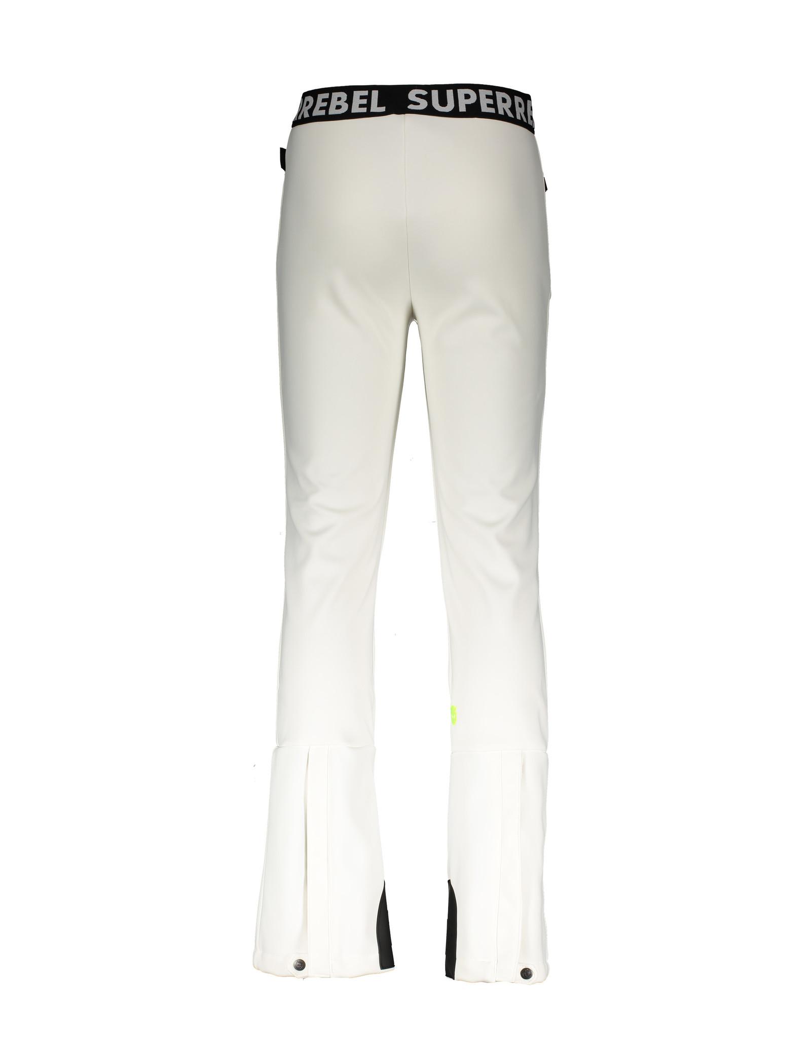 Super Rebel Super Rebel Ski Trousers Soft Shell WHITE