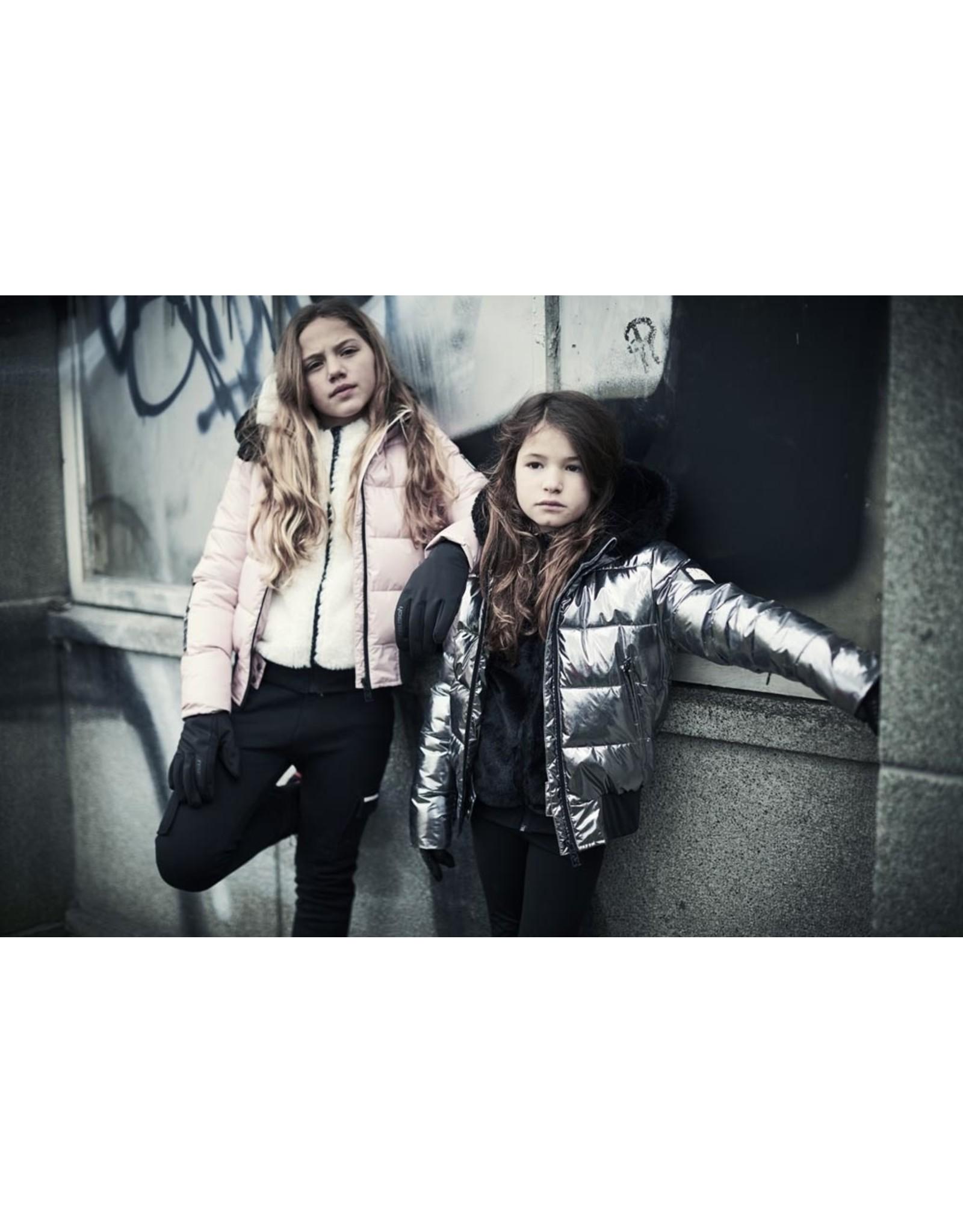 Super Rebel Super Rebel Basic Shiny Girls Fashion Jack LIGHT PINK