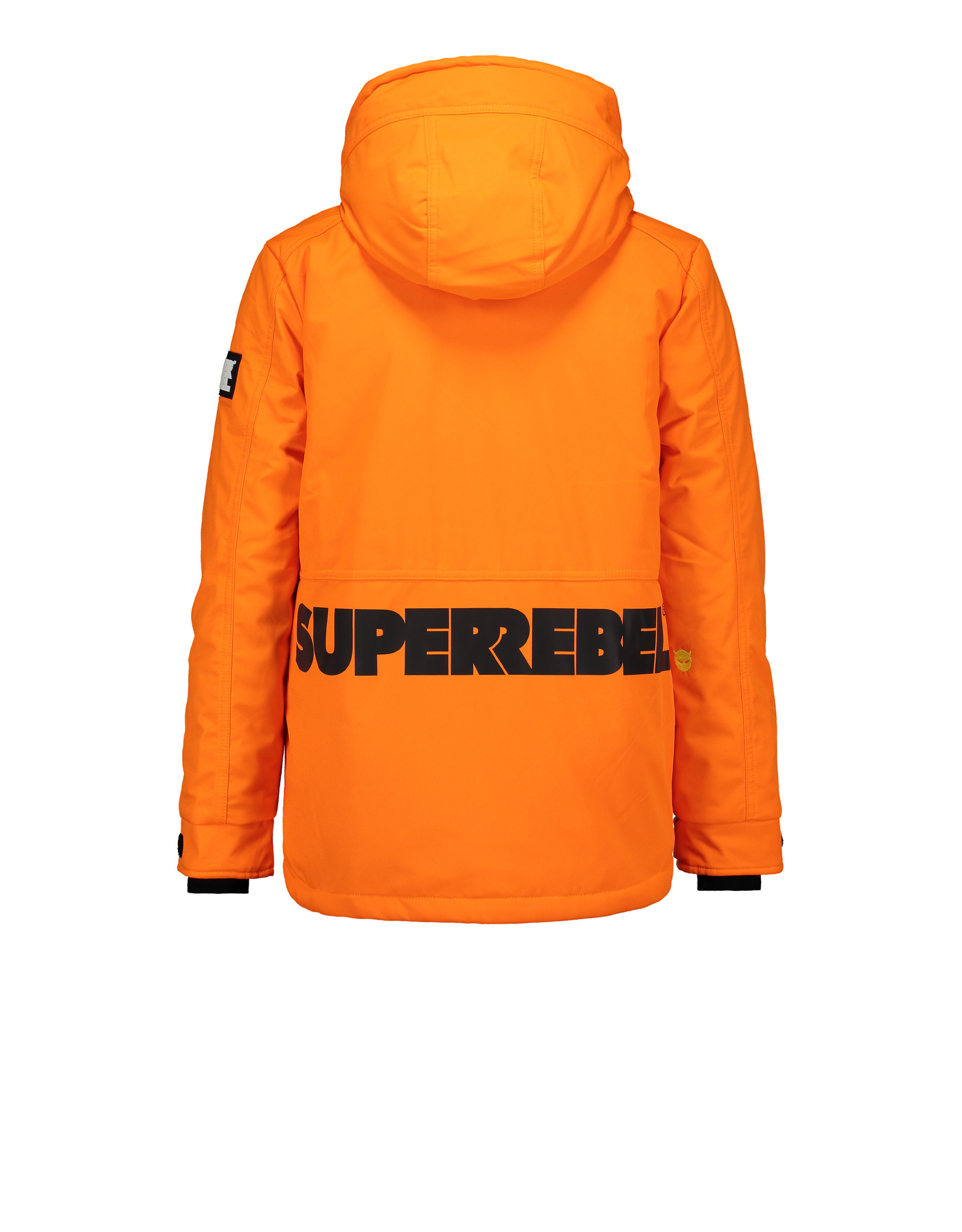 Super Rebel Super Rebel Ski Technical Jacket Plain NEON ORANGE