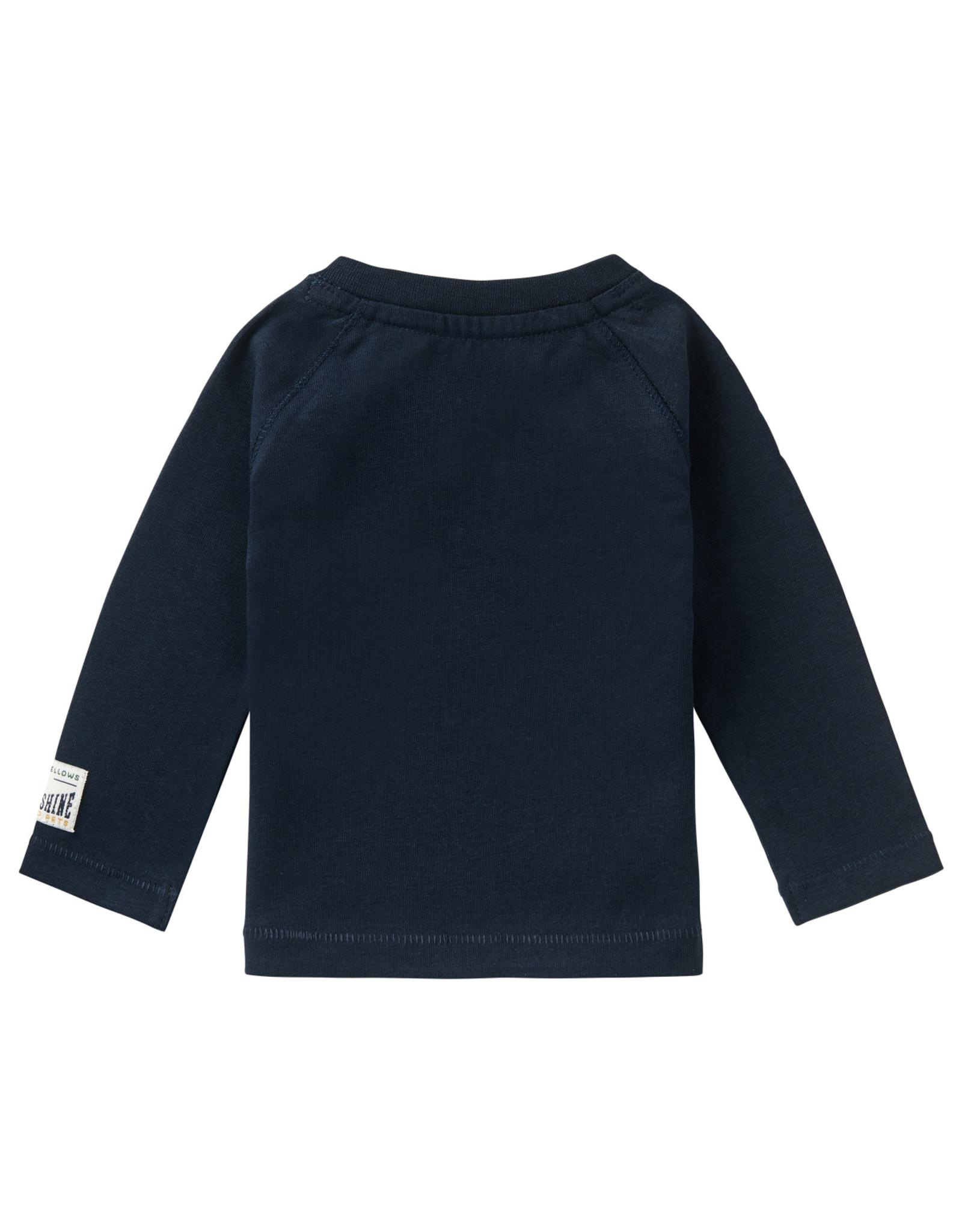 Noppies Noppies B T-shirt LS Seymour Dark Sapphire