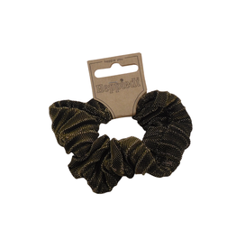 Heppiedi Heppiedi Scrunchie Lurex Zwart/Goud