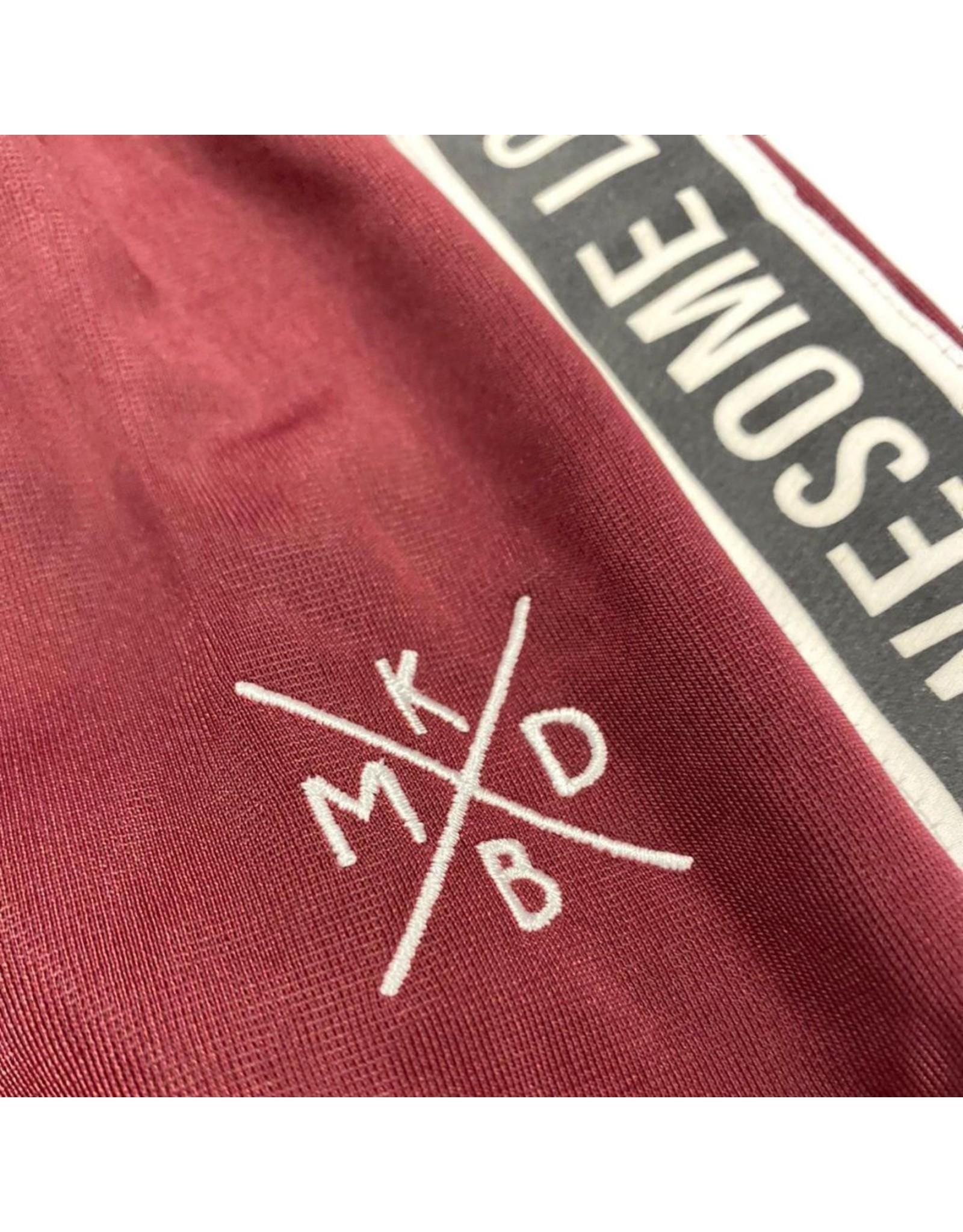 KMDB KMDB Baby Trackpants Trick Bordeaux