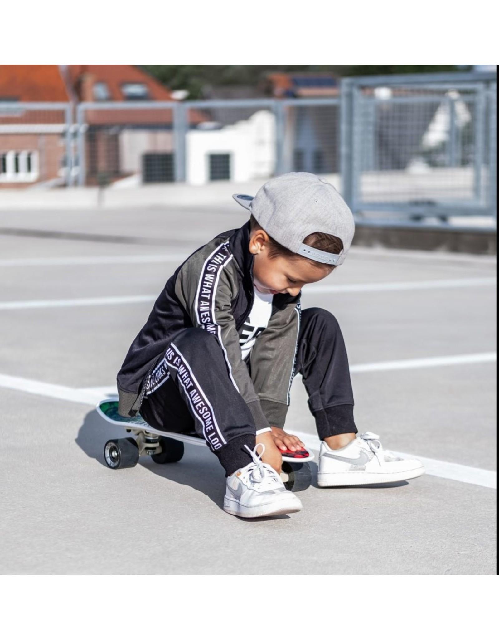 KMDB KMDB Baby Trackvest Trick Black - maat 86