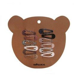 Van Pauline Hairclips Bear 3 cm