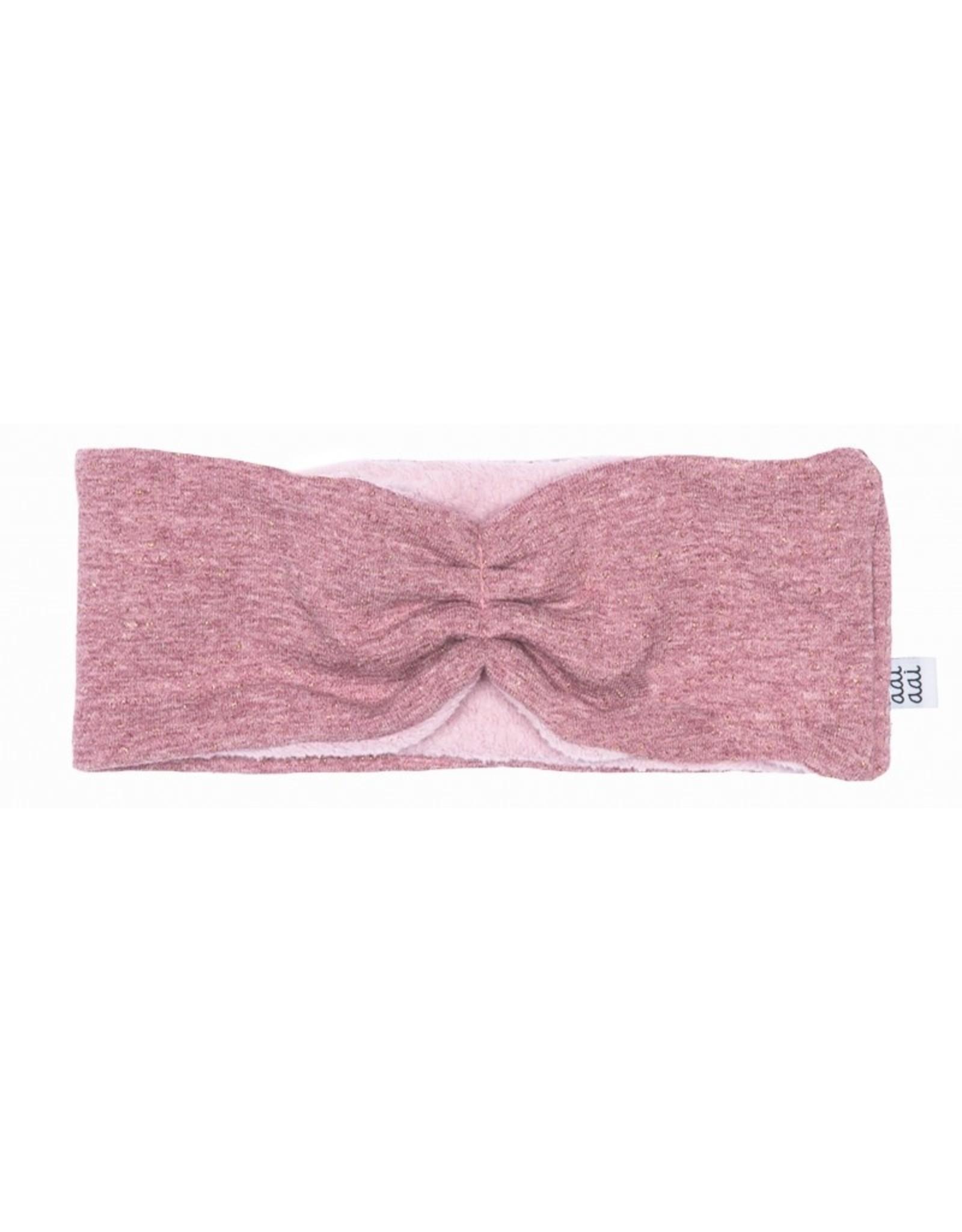 Aai Aai Aai Aai Winter Haarband Pink