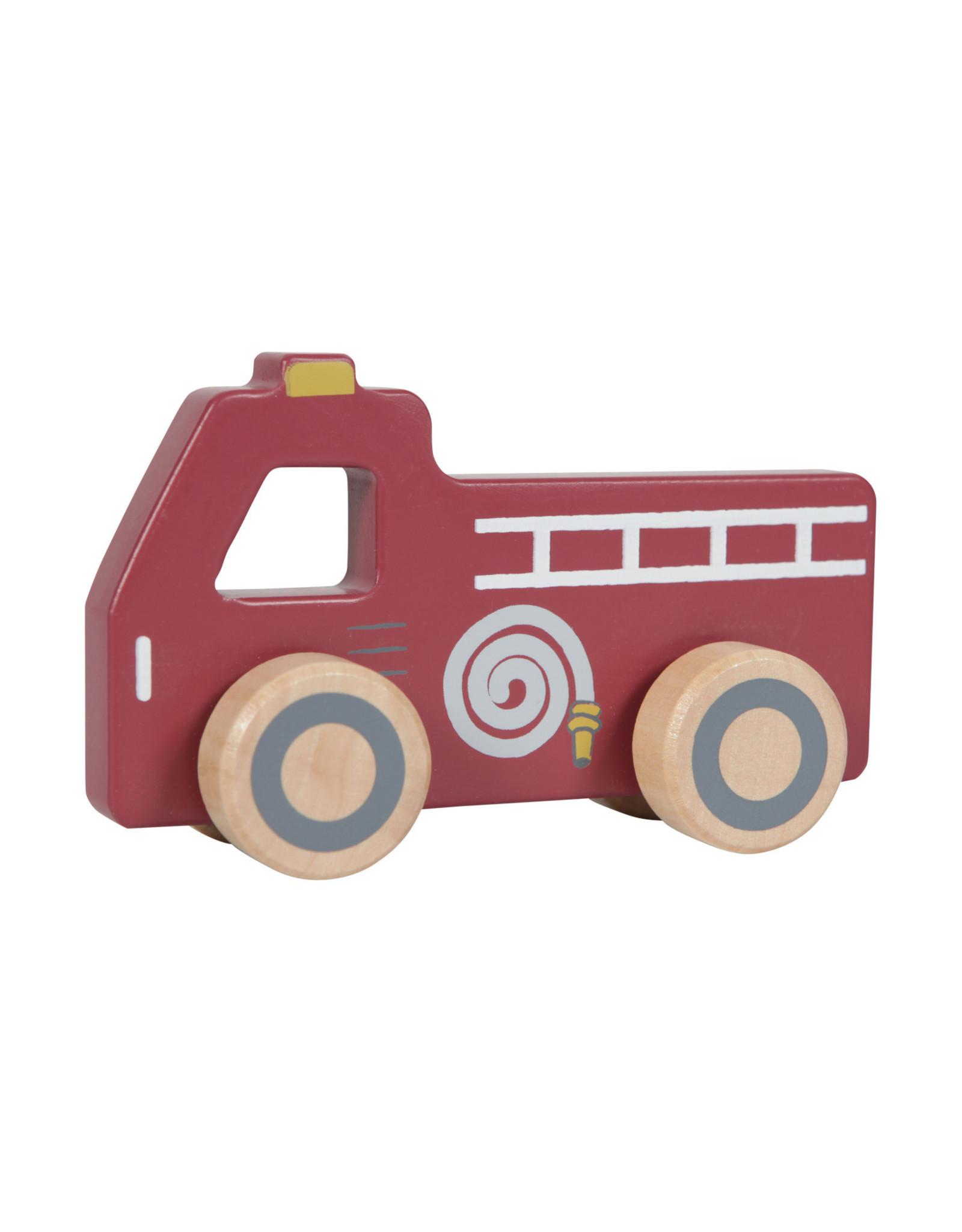 Little Dutch Little Dutch Houten Hulpverleningsauto's
