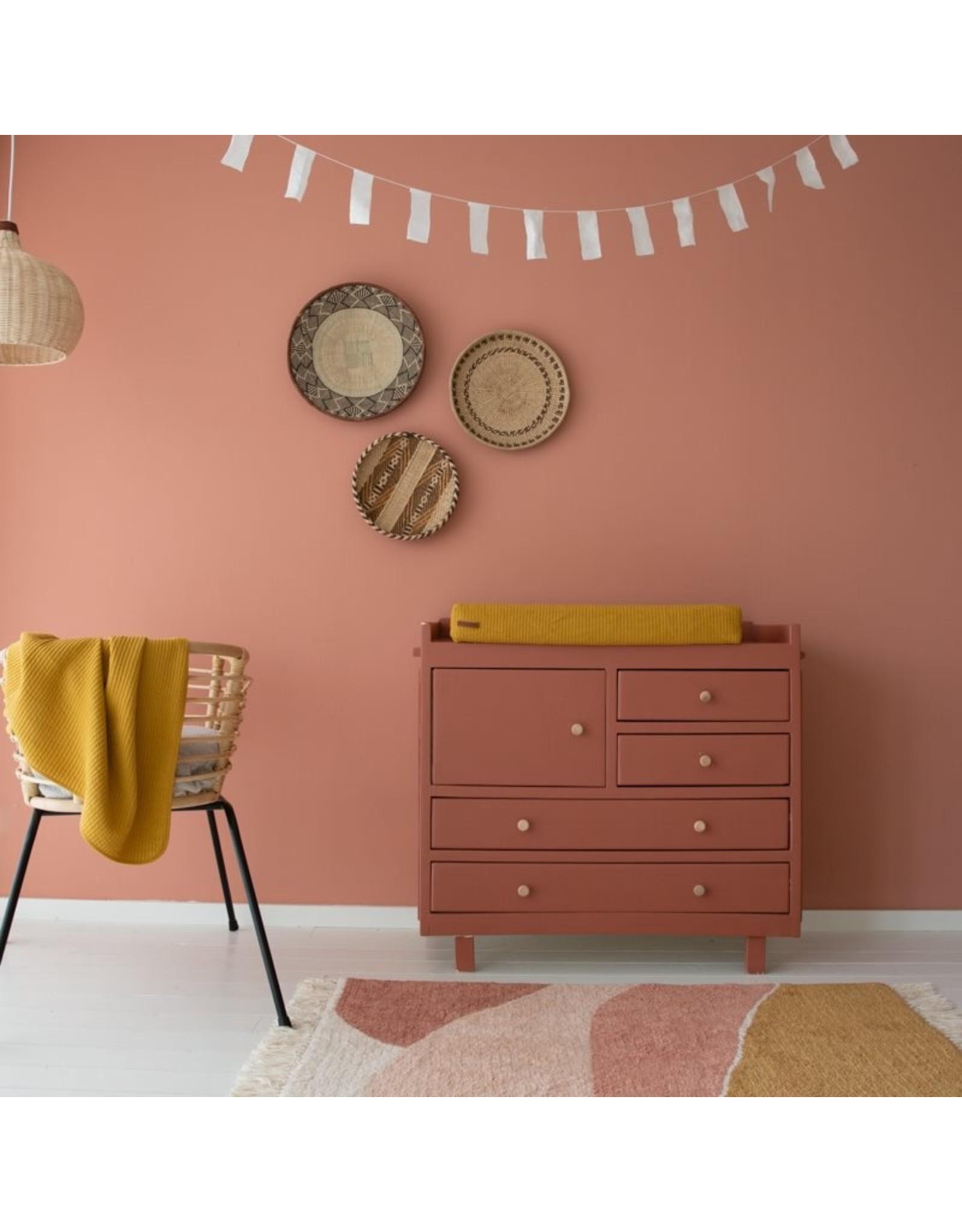 Little Dutch Little Dutch Vloerkleed Horizon Pink 130x90cm