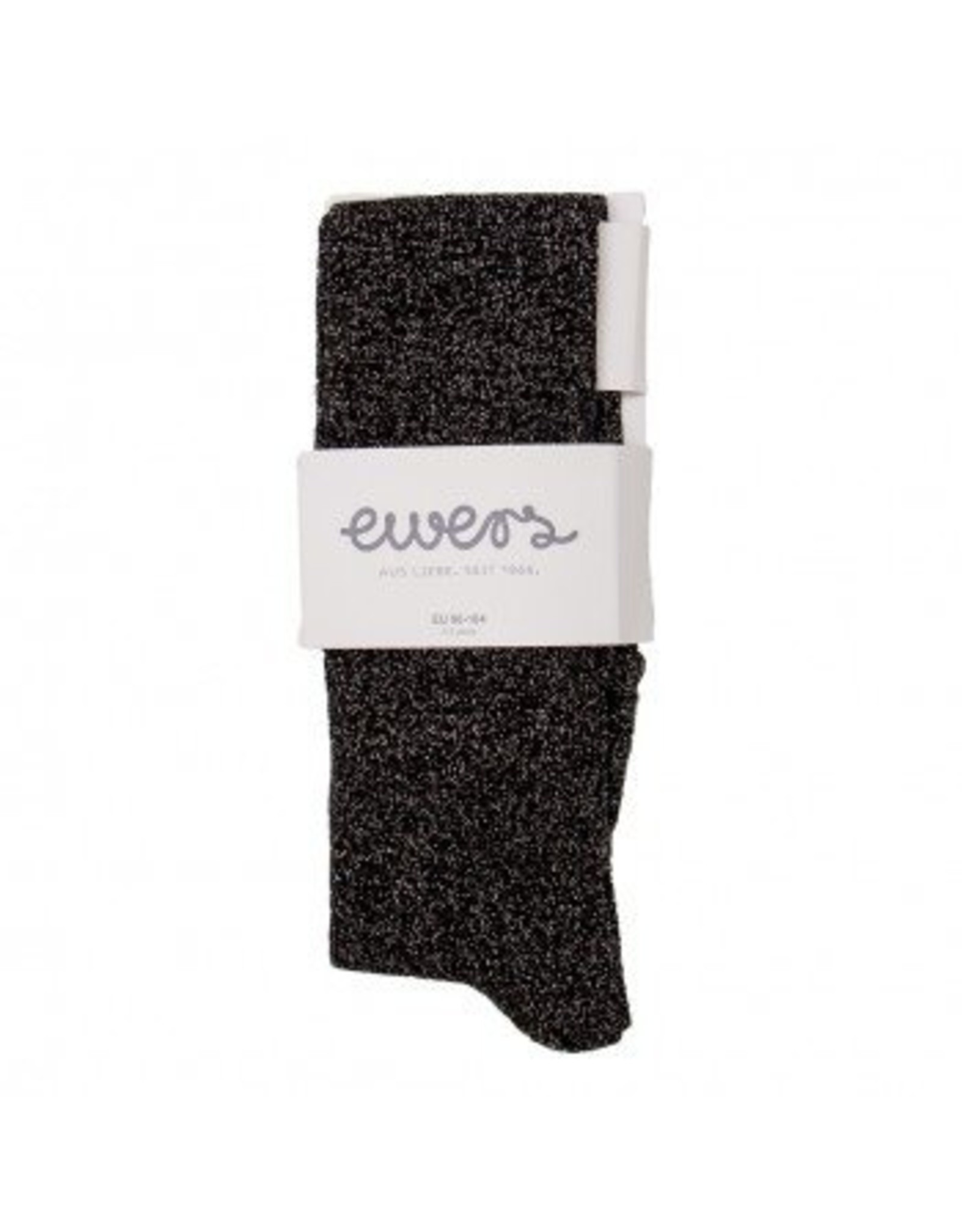 Ewers Ewers Panty Glitter Zwart/Zilver 40 DEN