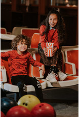 Sproet & Sprout Sproet & Sprout T-shirt Popcorn AOP Grenadine