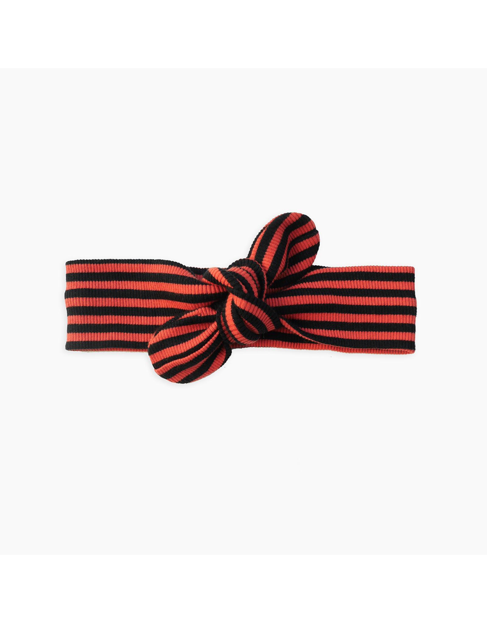 Sproet & Sprout Sproet & Sprout Headband Rib Stripe Grenadine