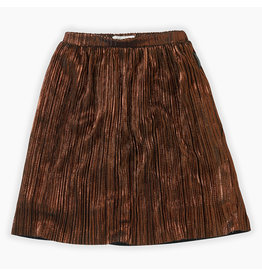 Sproet & Sprout Sproet & Sprout Midi Skirt Metallic Gold