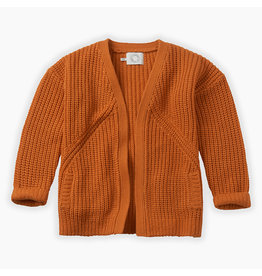 Sproet & Sprout Sproet & Sprout Chunky Cardigan Terra