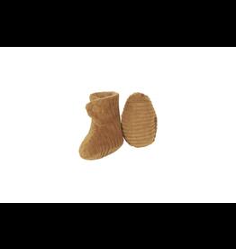 Nanami Nanami Newborn Shoe ribvelvet Sand