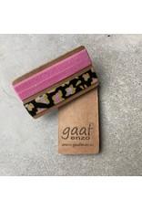 Gaaf enzo Gaaf enzo Pop-Up armbandjes set van 2 Roze/Leopard