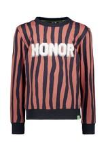 B.Nosy B. Nosy Boys Sweater With Zebra Stripe Pale