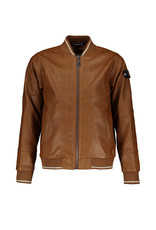 Red & Blu Red & Blu Milton Leather Jacket Cognac