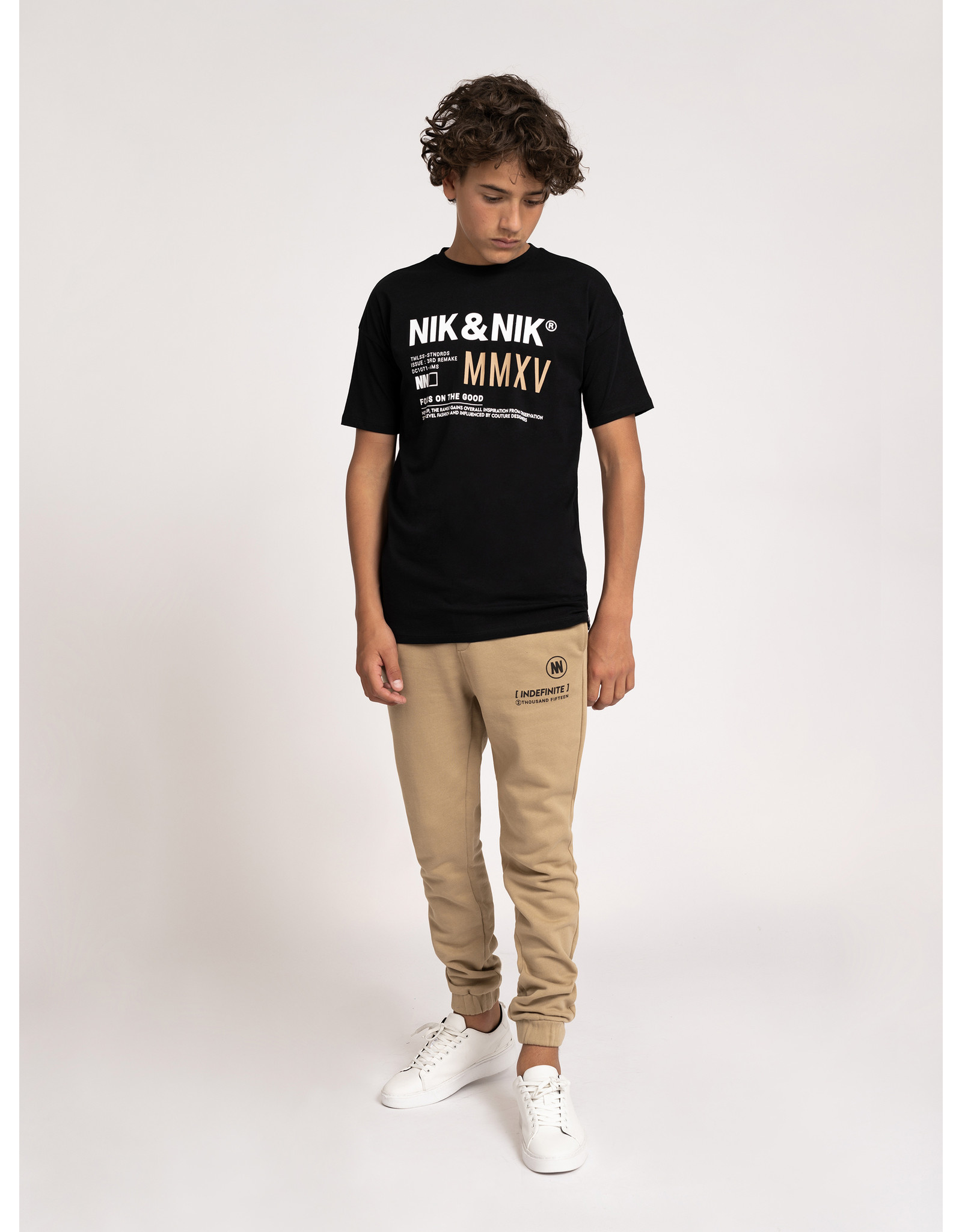 Nik&Nik NIK&NIK Alarik T-Shirt Black