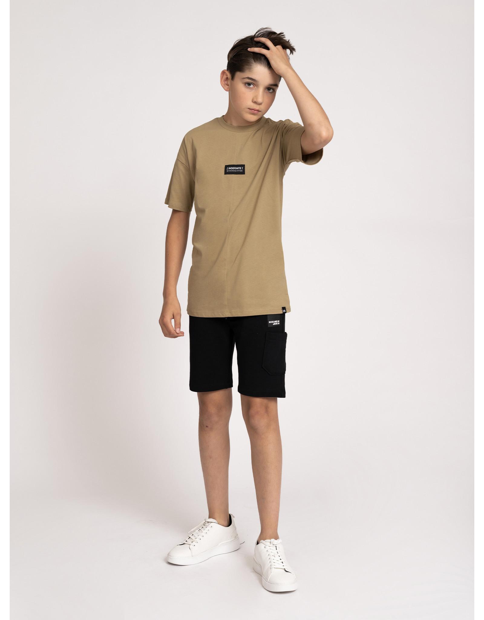Nik&Nik NIK&NIK  Austin T-Shirt Clay Beige
