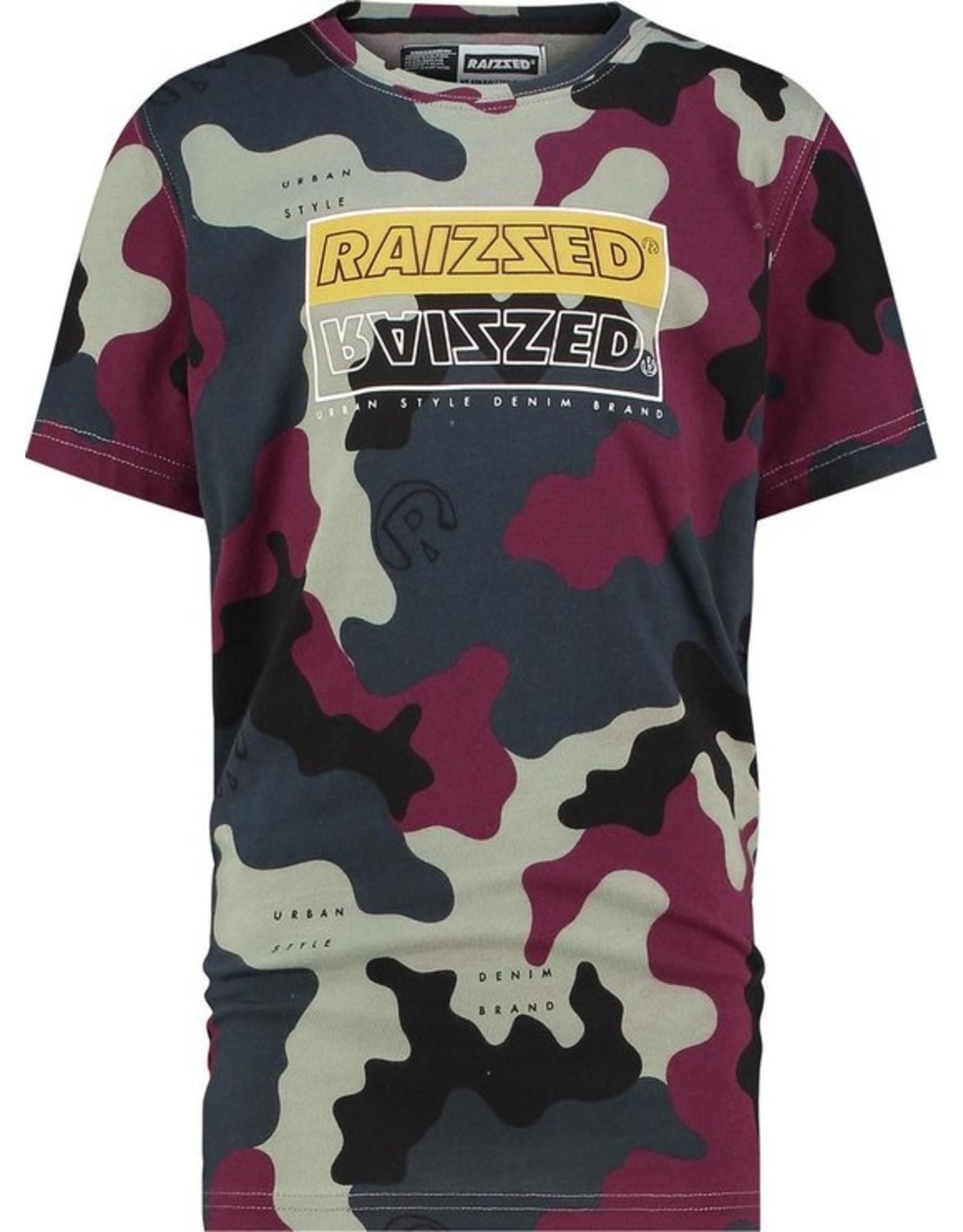 Raizzed Raizzed Hadano T-Shirt Camouflage Green