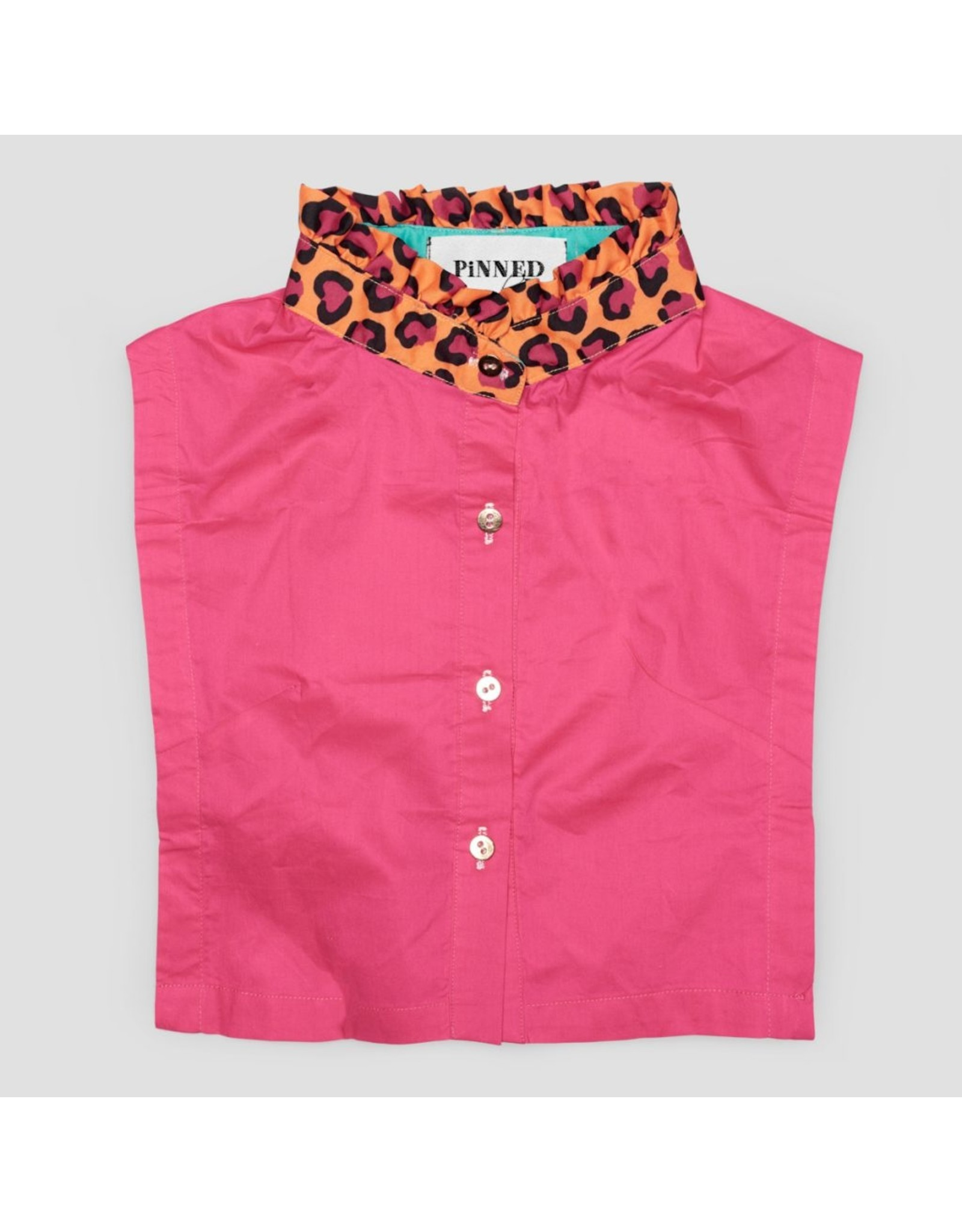 Pinned by K Pinned by K Collar Pinu Leopard Maat S/M