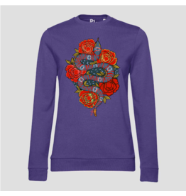 Pinned by K Pinned by K Sweater Kids Rose Snake Purple