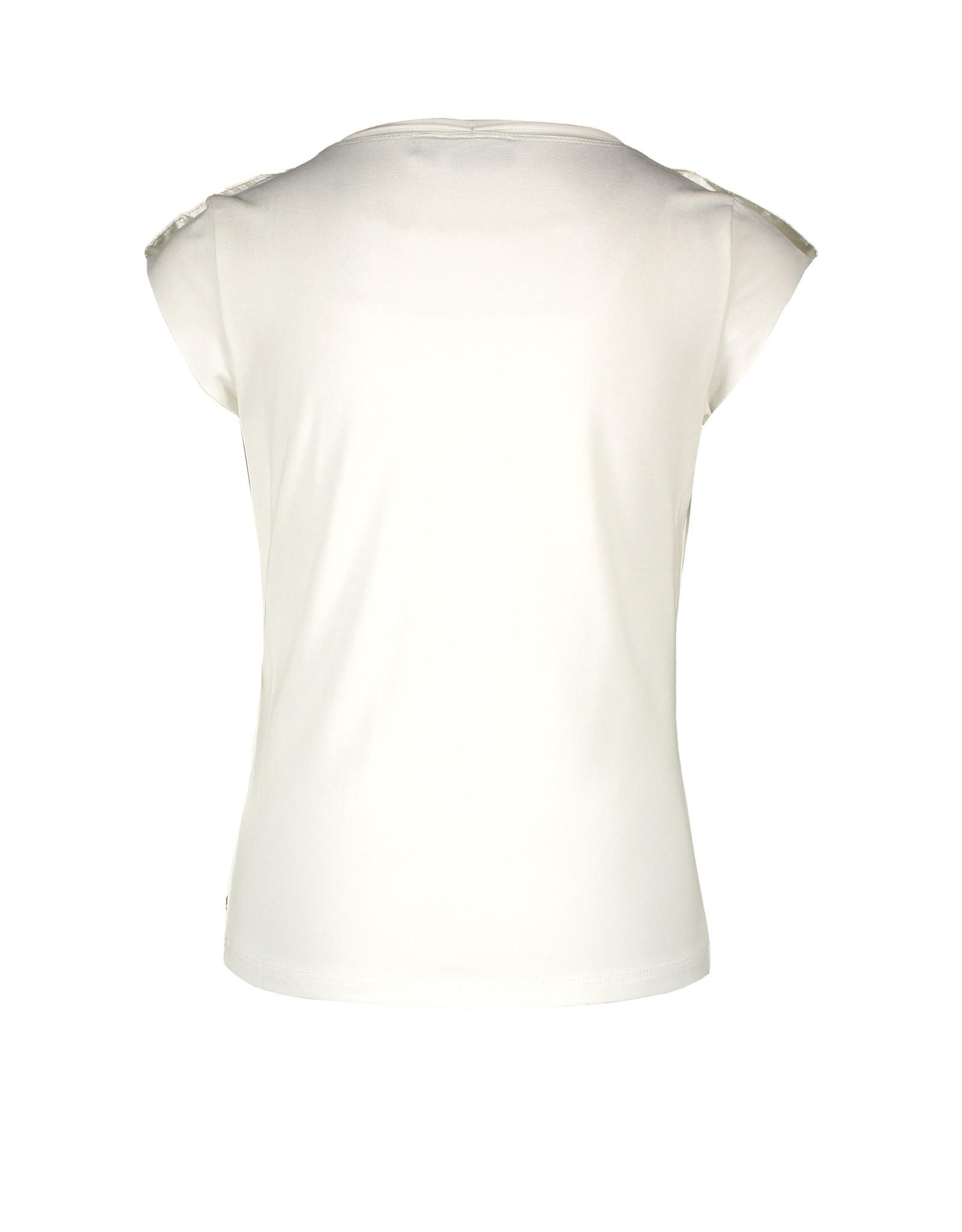 Like Flo Like Flo Girls Viscose Jersey Top Off White