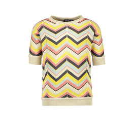 Like Flo Like Flo Girls Zigzag Top