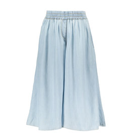 Like Flo Like Flo Girls Light Denim Culotte Blue