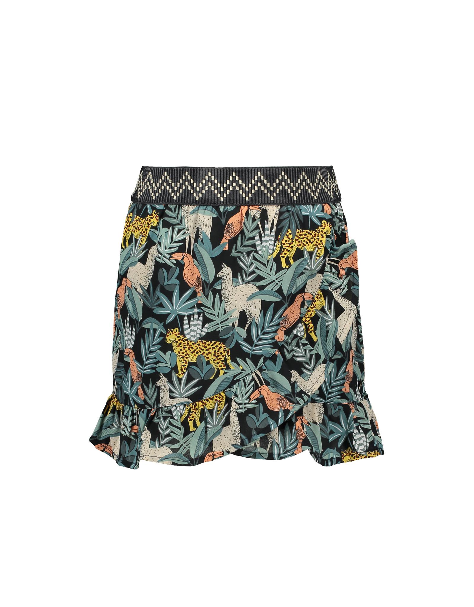 Like Flo Like Flo Girls AO Leaf Ruffle Skirt