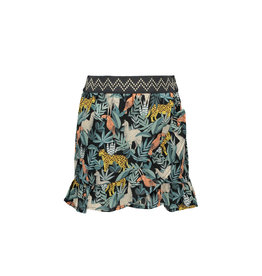 Like Flo Like Flo Girls AO Leaf Ruffle Skirt
