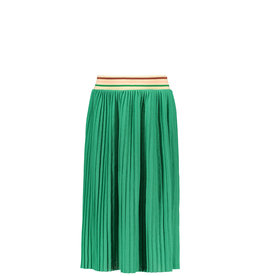 Like Flo Like Flo Girls Jersey Plisse Skirt Maxi Green