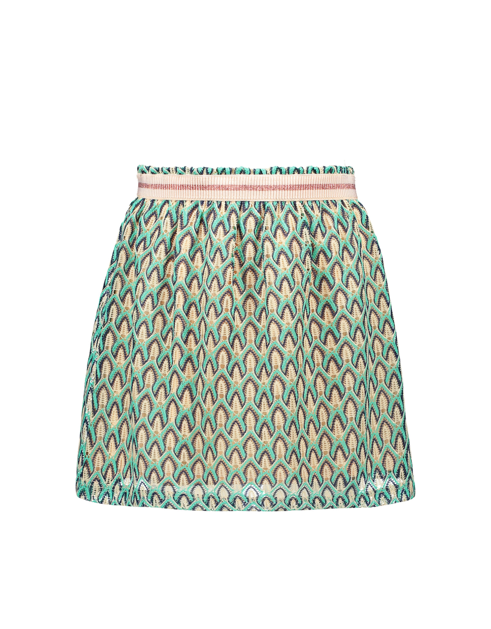 Like Flo Like Flo Girls Fancy Lace Skirt Mint