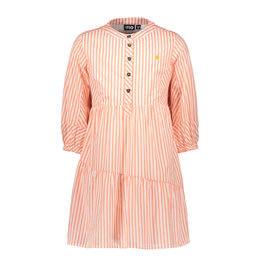 Like Flo Like Flo Girls Woven Tuniek Neon Stripe