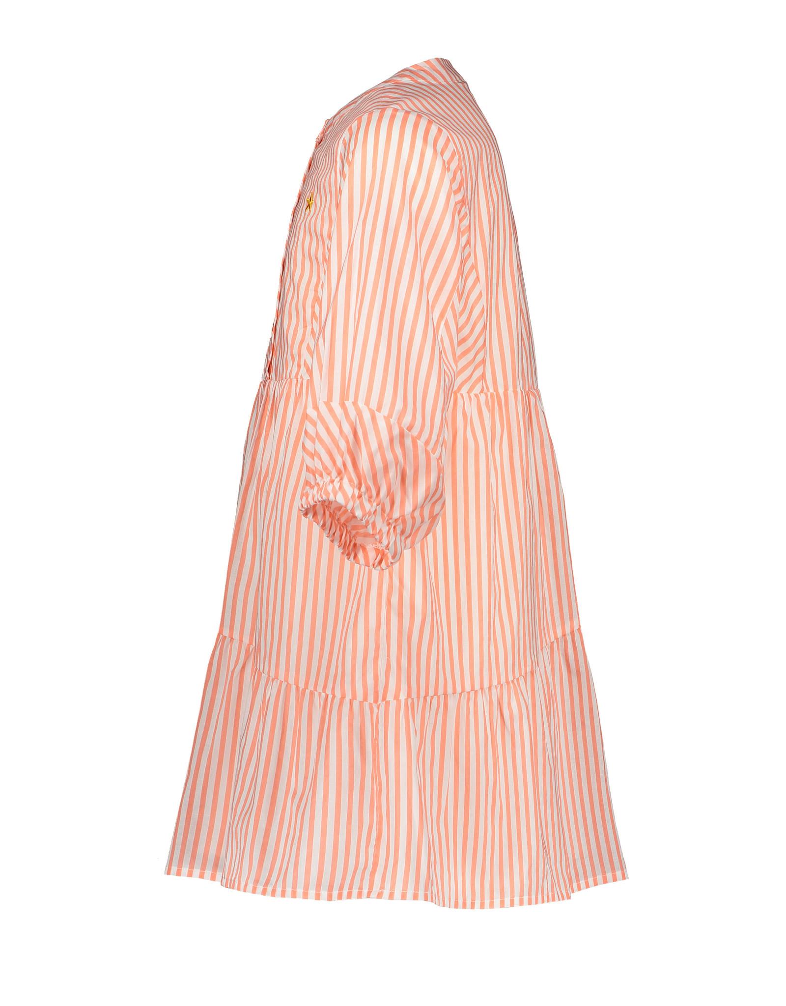 Like Flo Like Flo Girls Woven Tuniek Neon Stripe